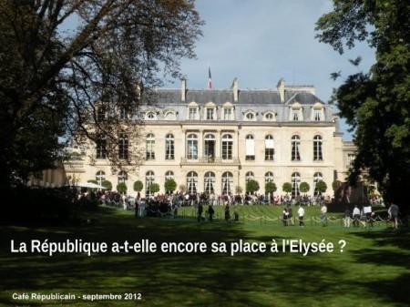 Elysée, République,