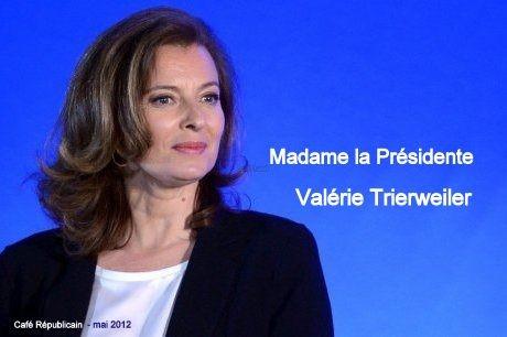 Valérie Trierweiler, François Hollande,