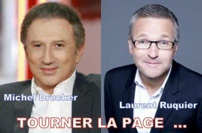 Drucker,Ruquier,France 2,
